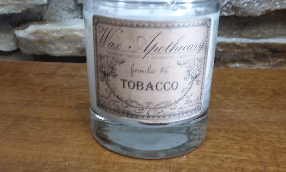 Tobacco Coconut Wax Vegan Candle