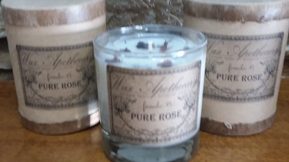 Pure Rose Vegan Coconut Wax Candle