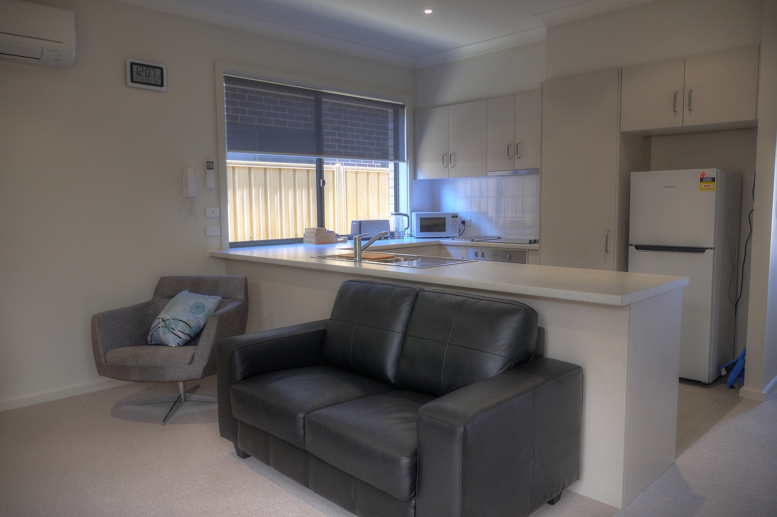 living area-2 bedroom