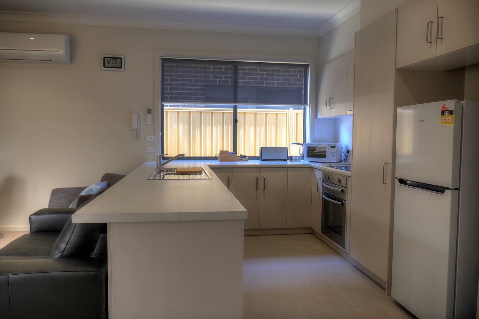 2 bedroom-kitchen