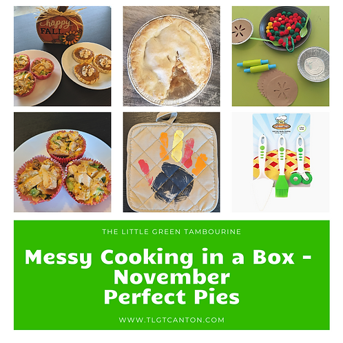 Messy Cooking in a Box - November