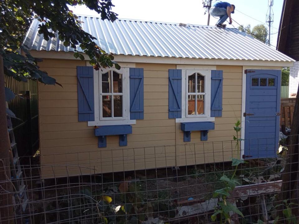 Хозблок-''Садовый домик''
