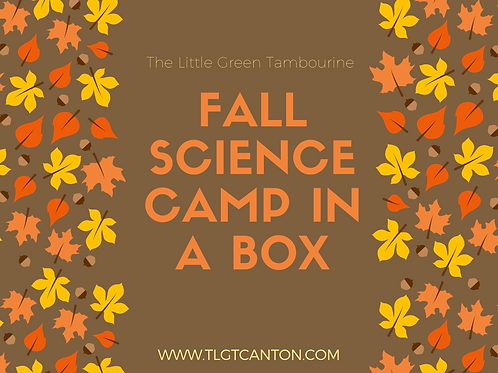Fall Science Camp in a Box