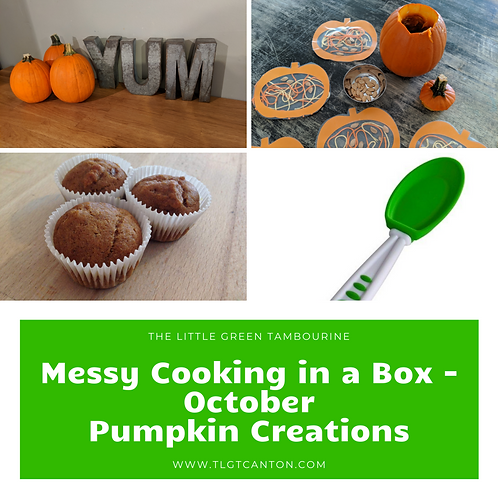 Messy Cooking in a Box - October