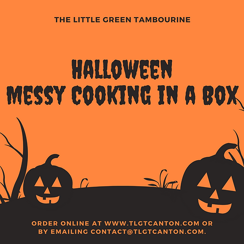 Halloween Messy Cooking in a Box