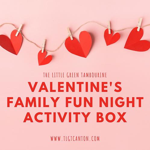 Valentine's Family Fun Night Activity Box