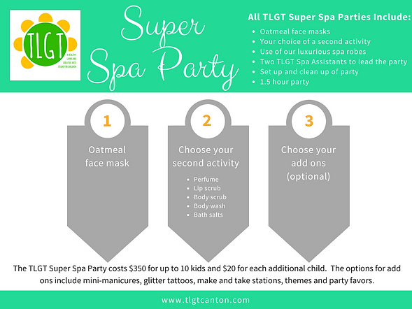 TLGT Super Spa Party Choices.png