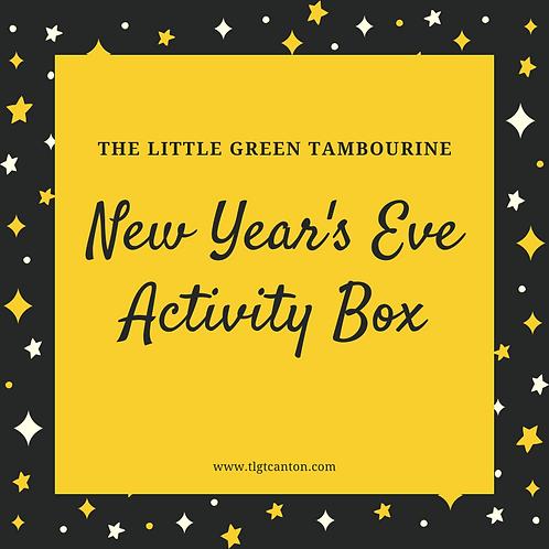 New Year's Eve Activity Box