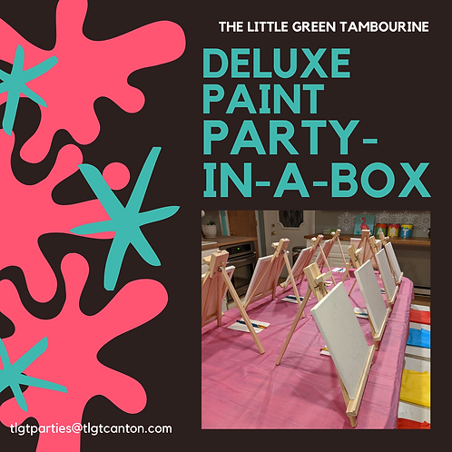 TLGT Deluxe Paint Party-in-a-Box - additional kit