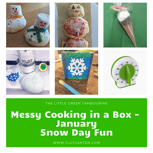 Messy Cooking in a Box - January