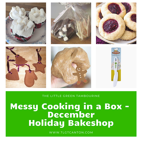 Messy Cooking in a Box - December