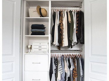 New Year + Starting Fresh: Bedrooms + Closets