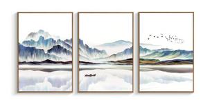 Calming 3-Piece Wall Art