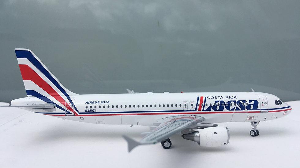EL AVIADOR MODELS A-320 LACSA