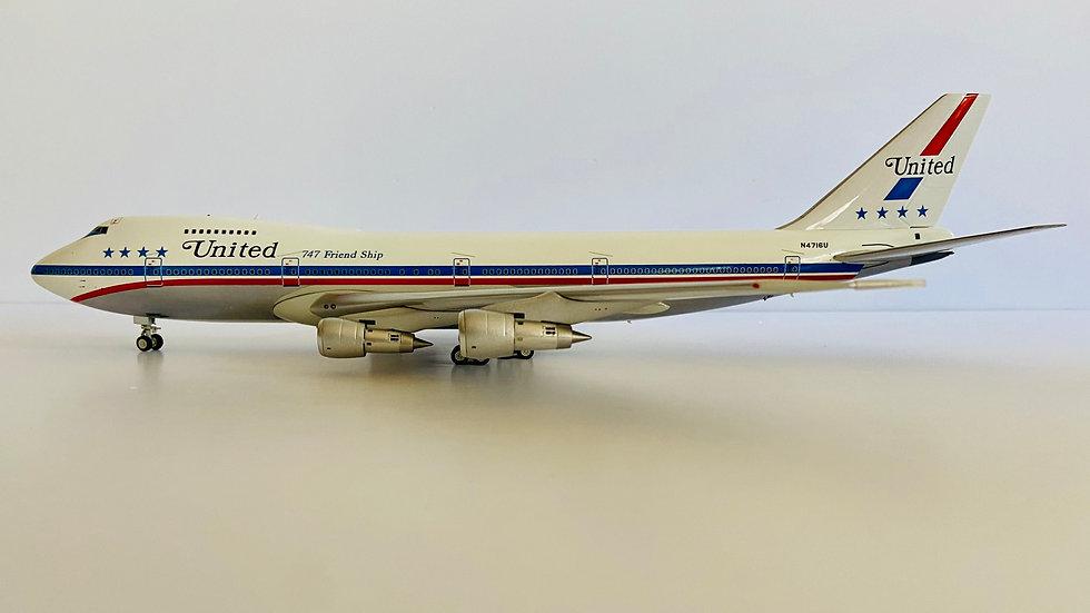Inflight 200 B-747 -100 United Friend Ship