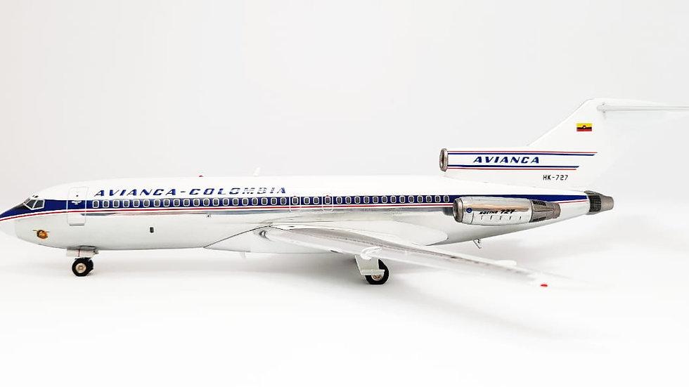 JP60 Boeing 727-100 Avianca Retro
