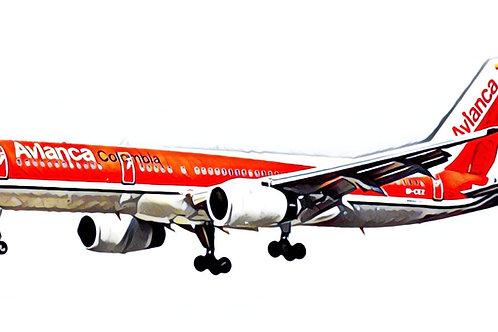 JP60AEROMODELOS B - 757 AVIANCA