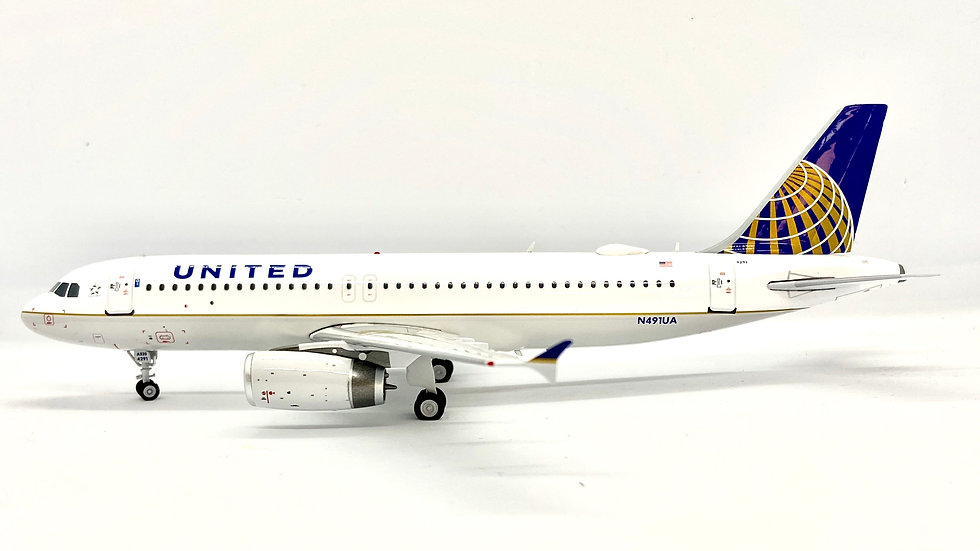 Inflight  200 A-320 United