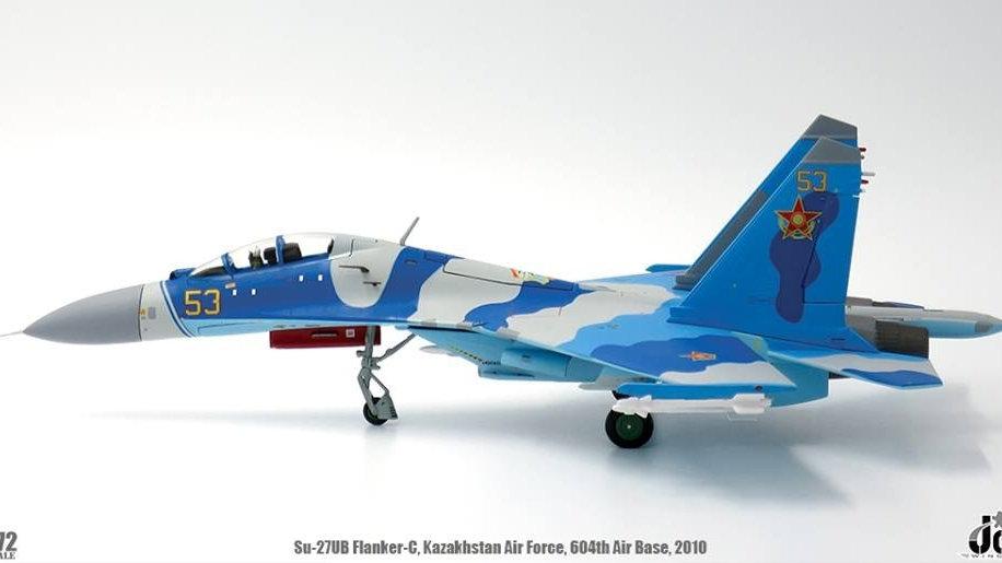 Jc Wings 1/72 Su-27UB Flanker-C Kazakhstan Air Force