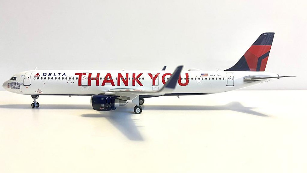 JFOX A-321neo  Delta ¨Thank you¨