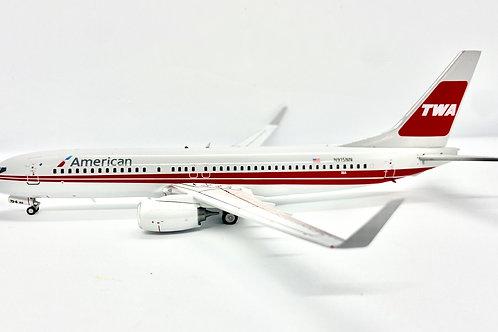 INFLIGHT200B-737 AA TWA