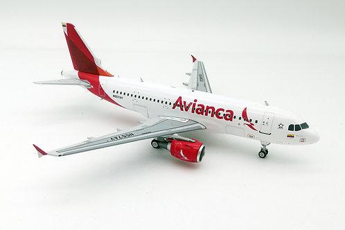 JP60AEROMODELOS A-319 AVIANCA
