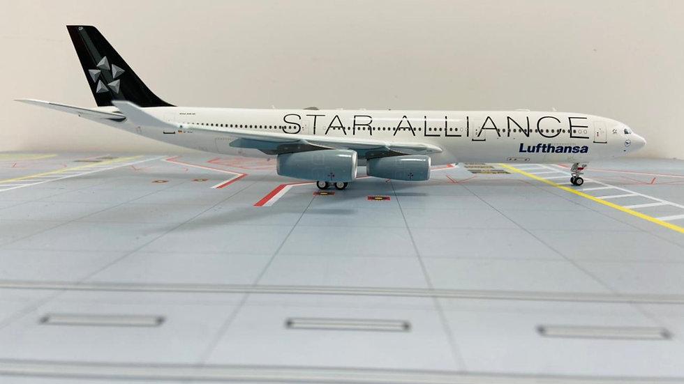 Infligth-200 Airbus A-340-300 Lufthansa Star Alliance