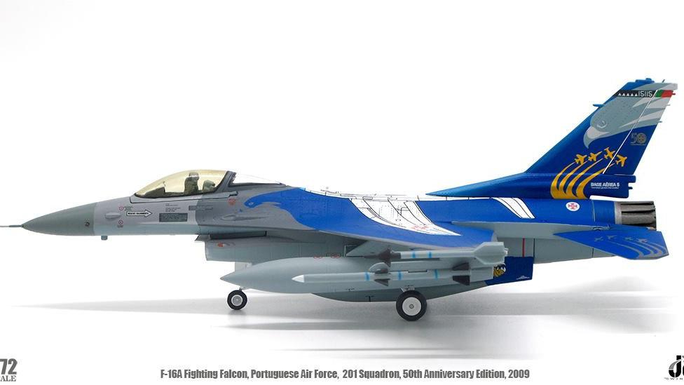 JC WINGS 1/72 F-16A Fighting Falcon Fuerza Aerea de Portugal