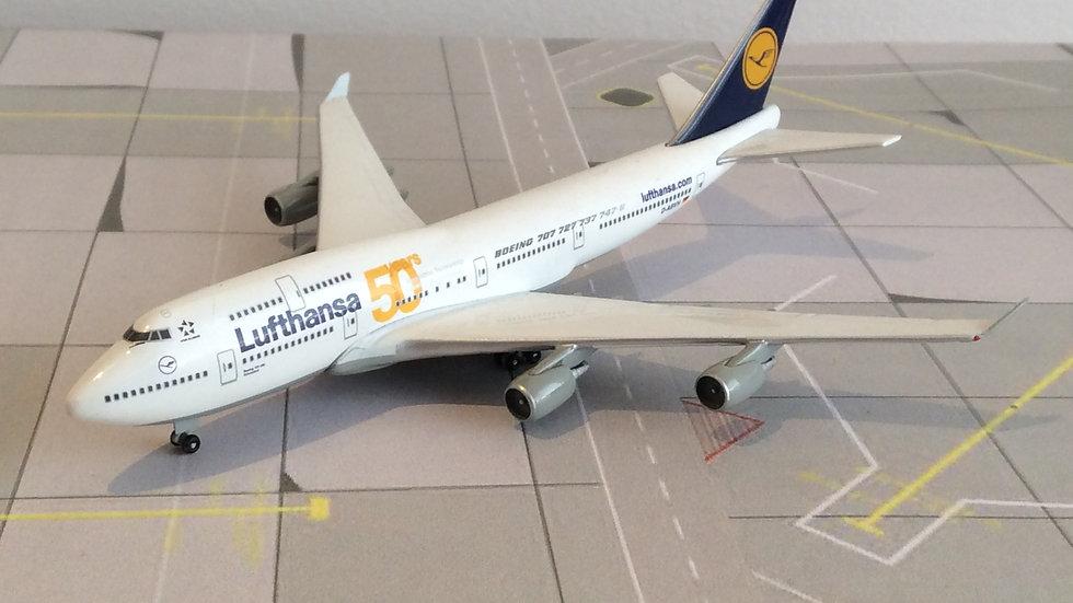 Herpa Boeing - 747 - 400 Lufthansa