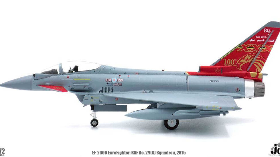 JC WINGS 1/72 EuroFigther EF-2000 Royal Air Force