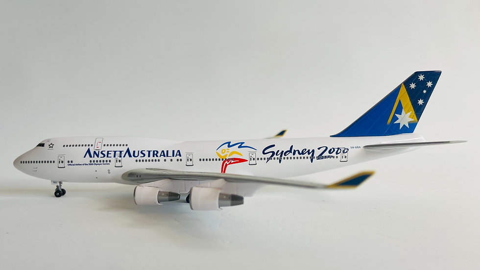 Aeroclassics Boeing 747-400 Ansett
