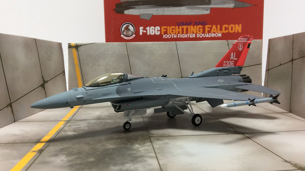 JC WINGS 1/72 F-16C Fighting Falcon USAF ANG
