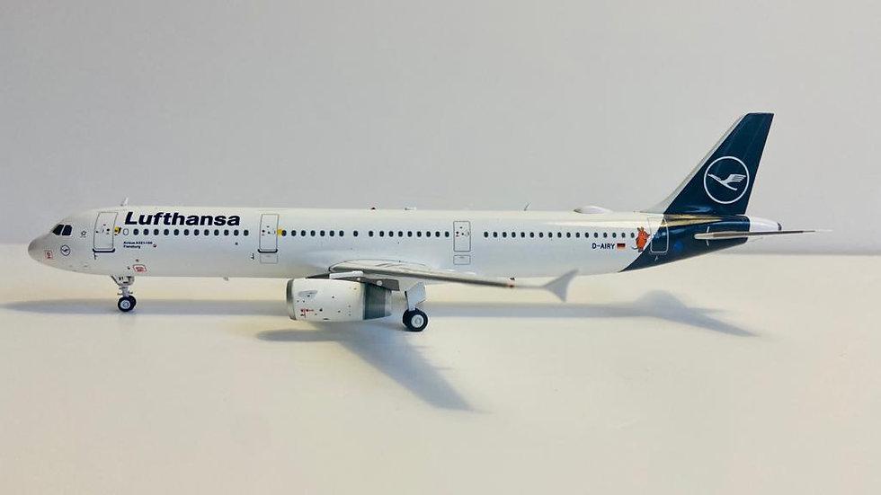 JFOX A-321  Lufthansa D-AIRY