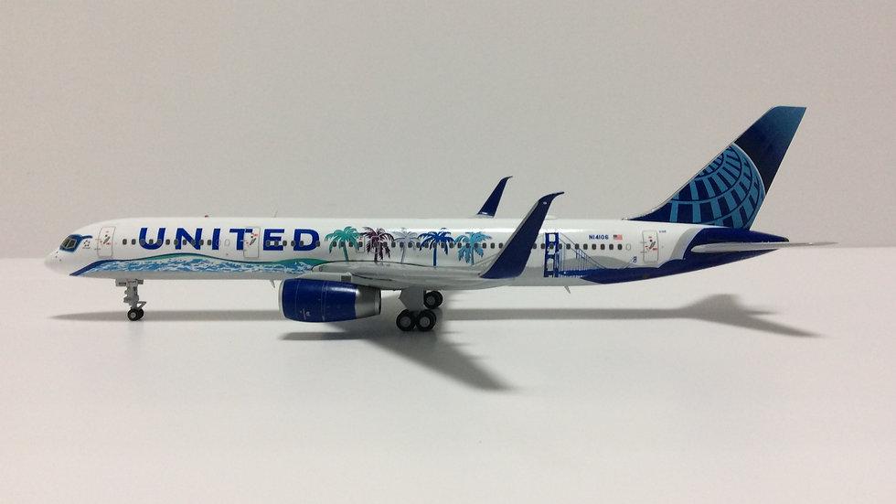 JC WINGS 200 B-757-200 United Her Art Here - California