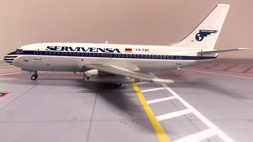El Aviador Models  Boeing 737 - 200 Servivensa
