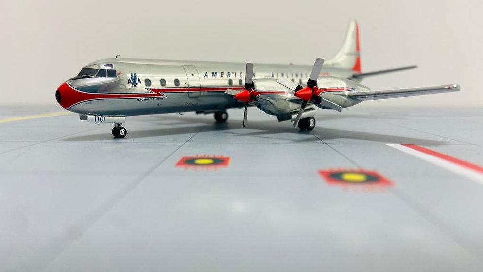 JC-WINGS-200  Lockeed188 Electra American Airlines