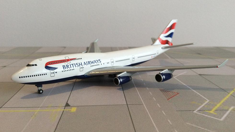 Herpa Boeing 747-400 British Airways