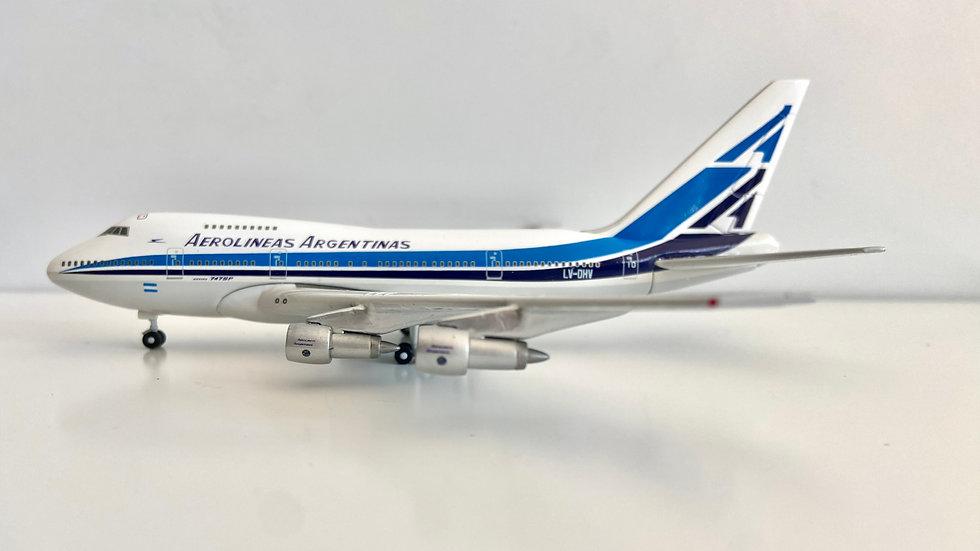 Gemini Jets Boeing 747SP Aerolineas Argentinas