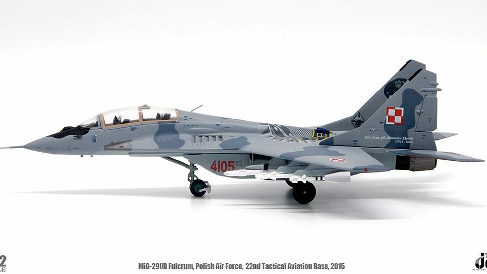 JC WINGS 1/72 Mig-29UB Fulcrum Fuerza Aerea de Polonia
