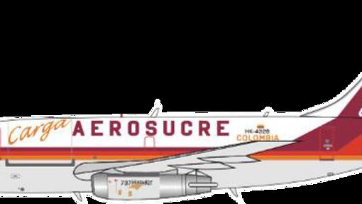JP60AEROMODELOS B - 737 - 200 AEROSUCRE
