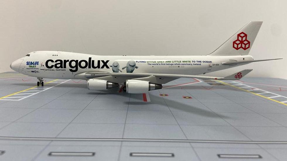 Inflight 200 Boeing - 747 Cargo Lux