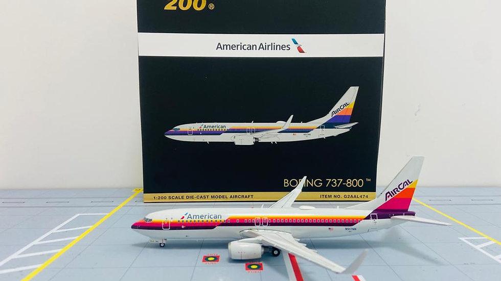 Gemini Jets 200 Boeing 737-800American Airlines