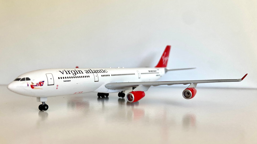 Dragon wings A-340-300 Virgin