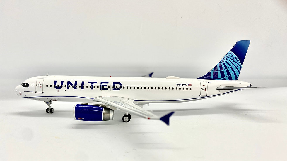 Inflight - 200 A-320 United New Livery