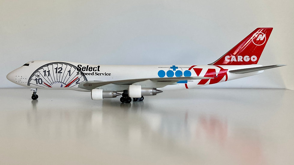 Dragon wings Boeing 747-200F Northwest Airlines