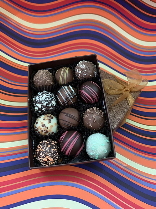 Mixed mini truffle assortment