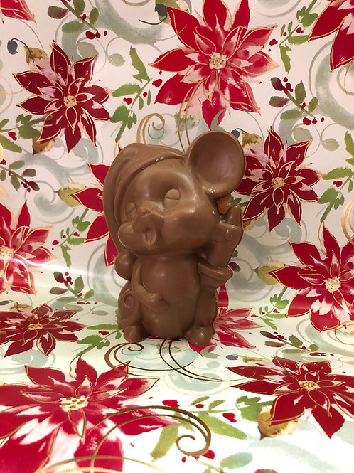 Solid Chocolate Mouse Caroler