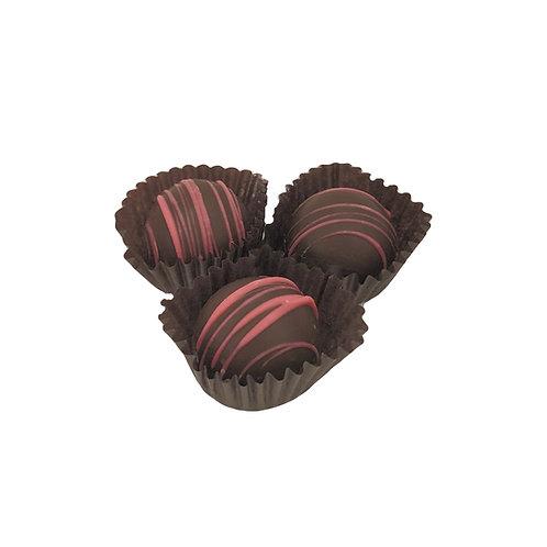 Mini Dark Raspberry Truffles