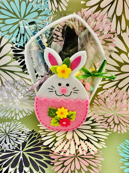 Small fabric Easter basket