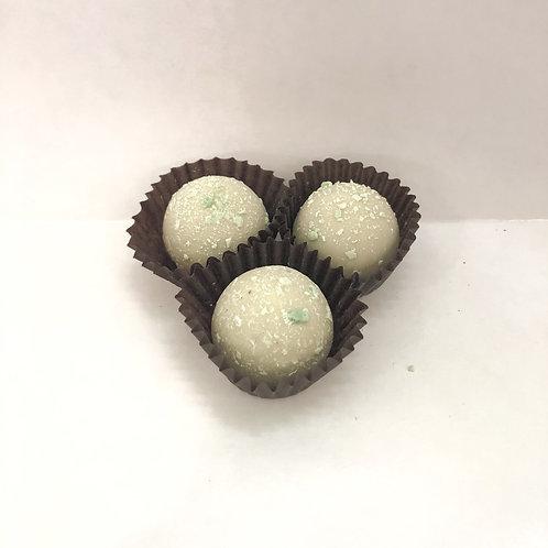 Mini White Mint Truffles